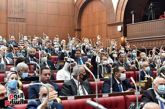 الجلسة العامة لمجلس الشيوخ (23)
