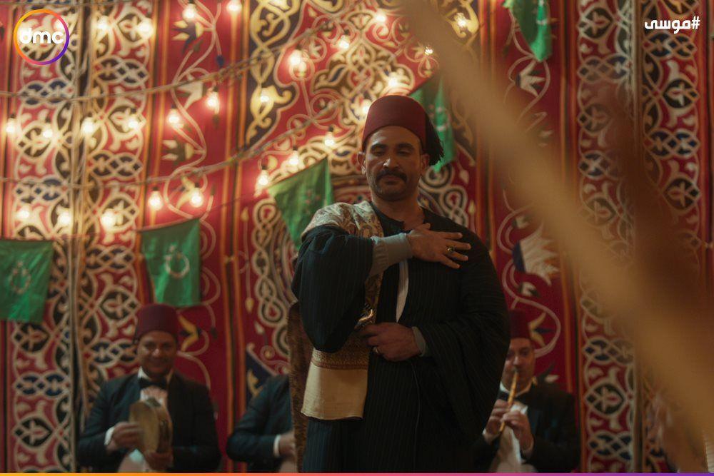 فرح محمد رمضان وسمية الخشاب فى مسلسل موسى (8)