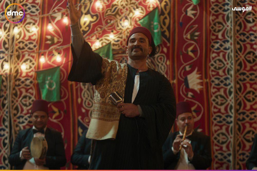 فرح محمد رمضان وسمية الخشاب فى مسلسل موسى (9)