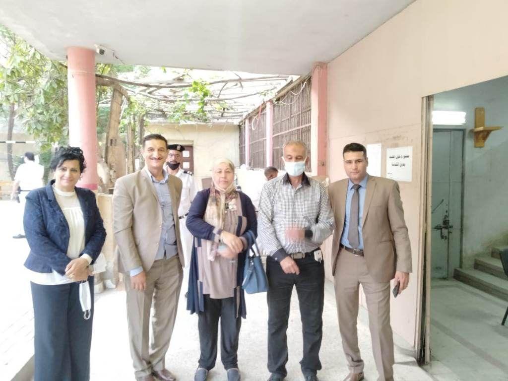 مدير مديرية القاهرة يتفقد المطبعة السرية (2)