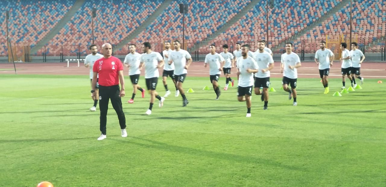 تدريب المنتخب الأولمبى (3)