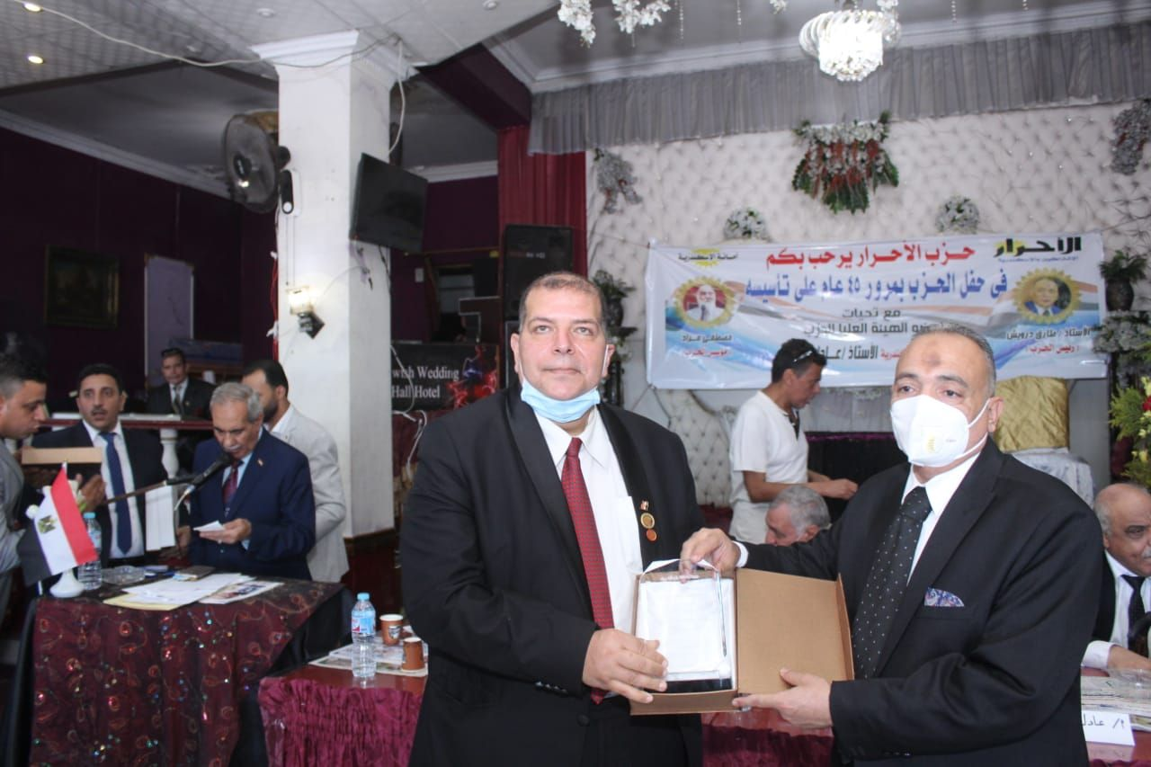 طارق درويش رئيس حزب الاحرار