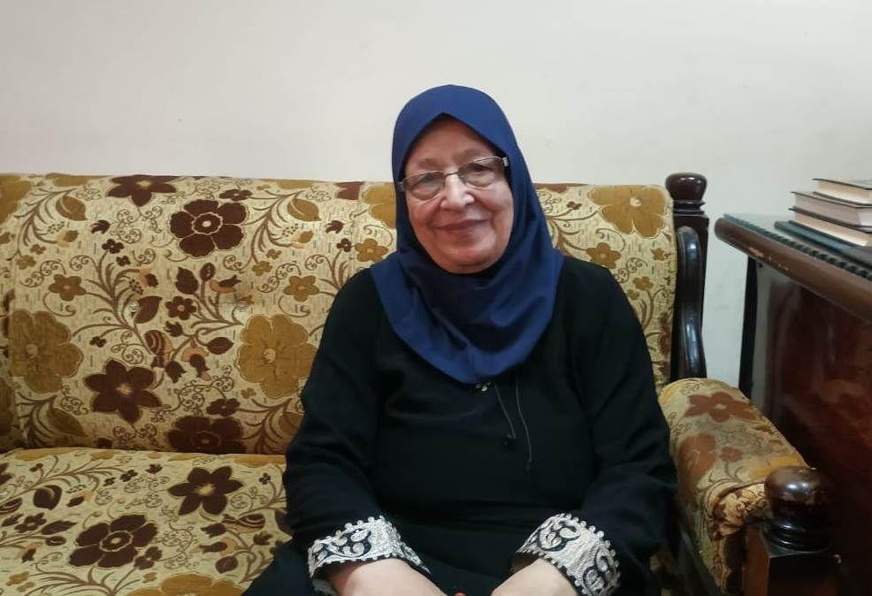 الحاجة ، سميرة رجب 84 سنة ، ومحو أميتها