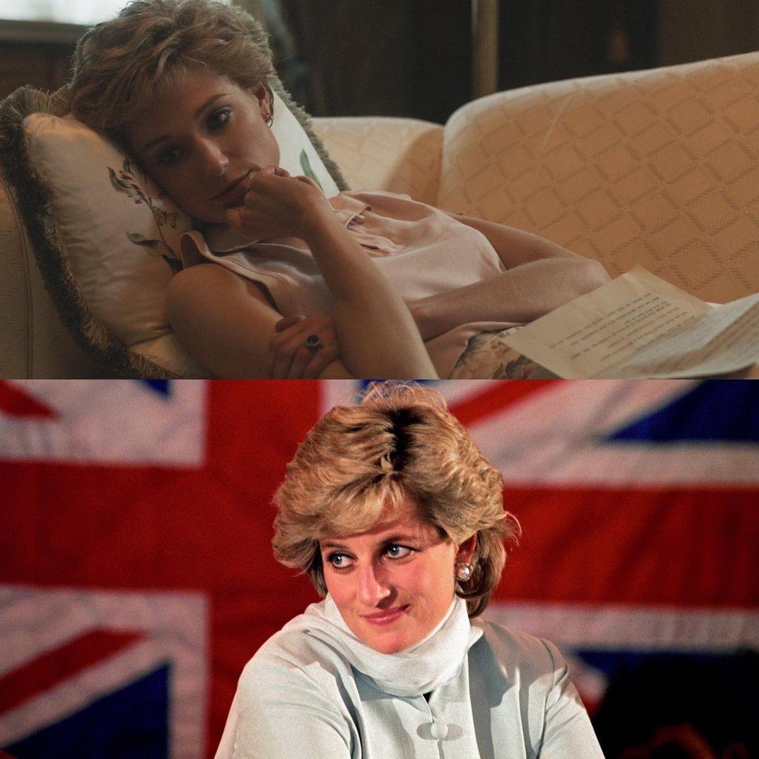 الصور الاولي لصاحبة شخصية الاميرة ديانا في The Crown