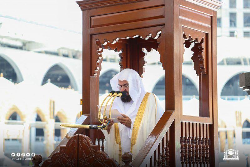 خطبة الجمعة من المسجد الحرام الطلاق البدعي