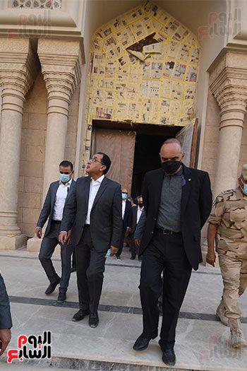 الدكتور مصطفى مدبولى رئيس الوزراء ونظيره الدكتور بشر الخصاونة (17)