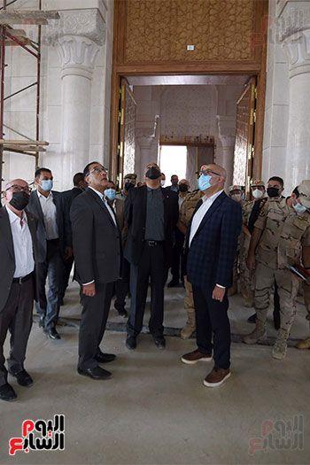 الدكتور مصطفى مدبولى رئيس الوزراء ونظيره الدكتور بشر الخصاونة (16)