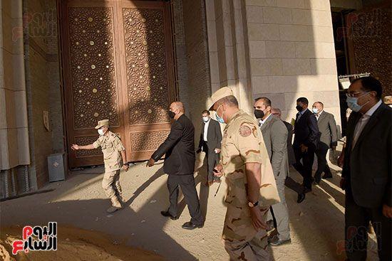 الدكتور مصطفى مدبولى رئيس الوزراء ونظيره الدكتور بشر الخصاونة (9)