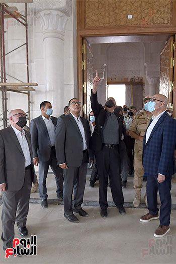 الدكتور مصطفى مدبولى رئيس الوزراء ونظيره الدكتور بشر الخصاونة (14)