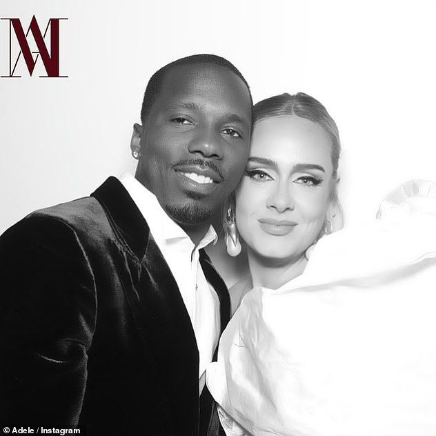 What a pair! Elsewhere, she confirmed that she and her new boyfriend, sports agent Rich Paul, 39, are 'very happy' and has revealed that he's 'frazzled' by her huge, global fame