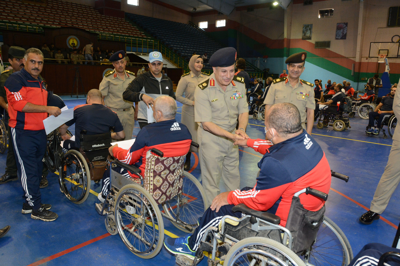 القوات المسلحة تقيم مهرجانا رياضيا بمناسبة الذكرى الـ48 لانتصارات أكتوبر (3)
