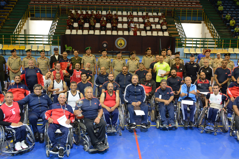 القوات المسلحة تقيم مهرجانا رياضيا بمناسبة الذكرى الـ48 لانتصارات أكتوبر (1)