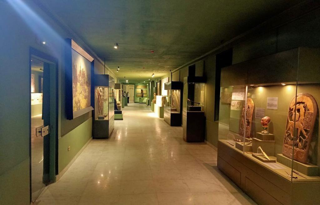 بعض مقتنيات المتحف الحربى