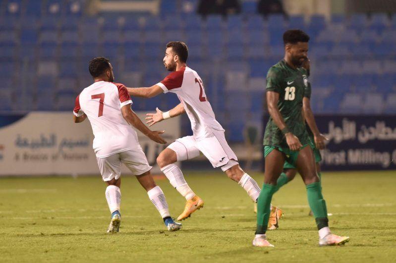 السعودية ضد الأردن