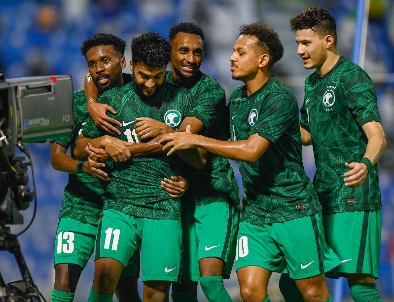 الأخضر الأولمبي - السعودية والأردن