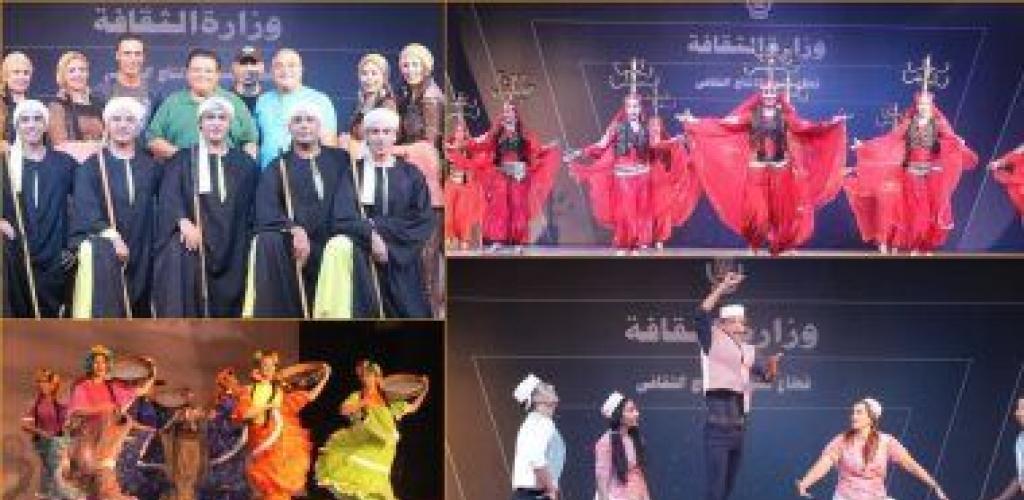 سهرة استعراضية للفرقة القومية بساحة مسرح الهناجر 8 رمضان