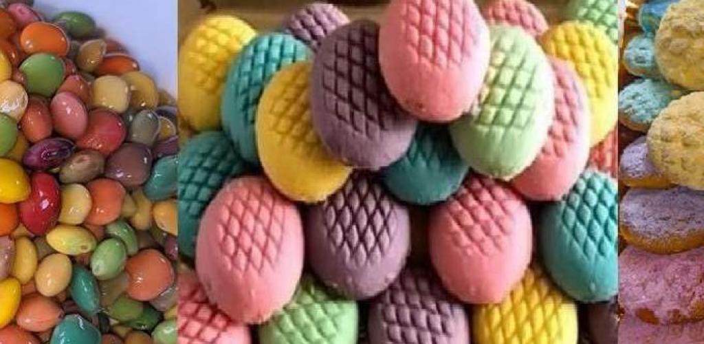 تريندات عيد الفطر بالألوان الستات لونت الترمس والكحك والسكر