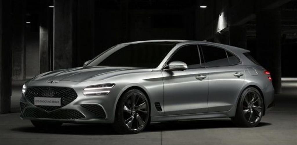 رسميا.. جينيسيس تعلن الكشف عن سيارتها الجديدة G70 شوتنج بريك