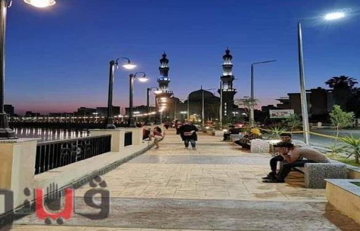 10 معلومات عن مشروع الممشى السياحي على بحر مويس بالزقازيق | صور