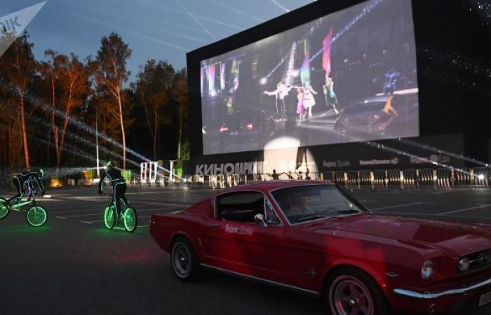 أكبر مهرجان سينمائي في الدول الاسكندنافية على جزيرة نائية وبمشاهد واحد