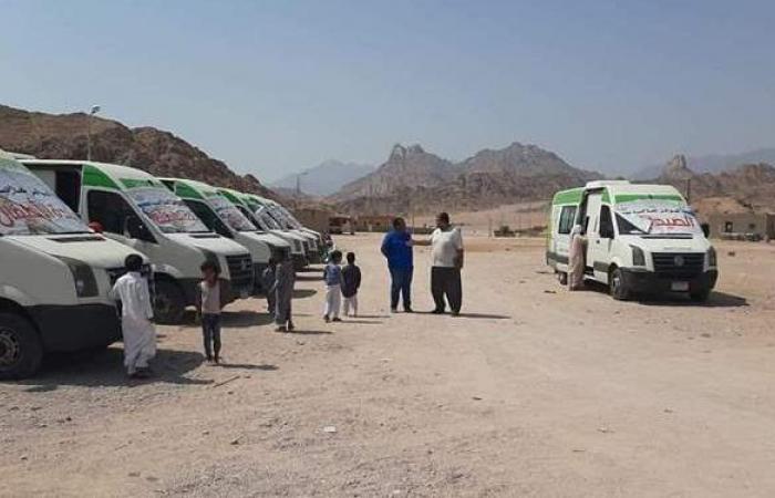 قافلة طبية مجانية بالمركز الحضري بأبوزنيمة ضمن مبادرة حياة كريمة