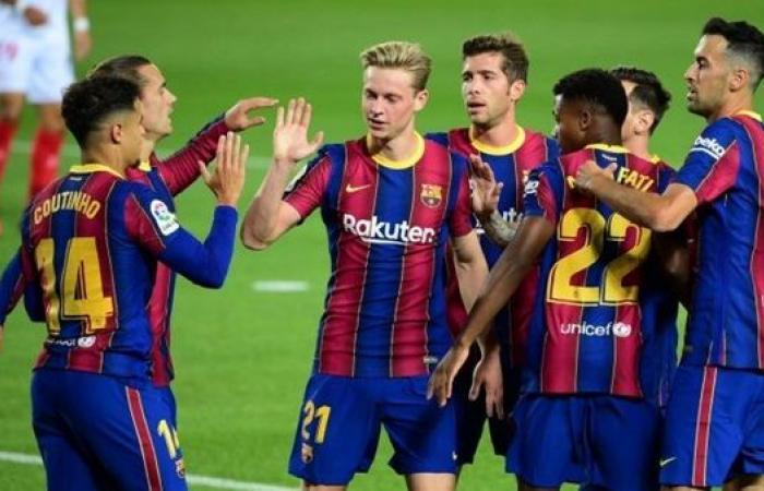 موعد مباراة برشلونة المقبلة فى الدورى الإسباني