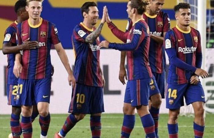 """برشلونة يدعم ميسي بعد تسريبات """"إلموندو"""""""