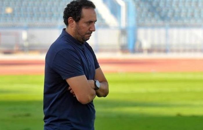 هيثم شعبان يعرب عن حزنه بعد التعادل مع أسوان في الدوري المصري