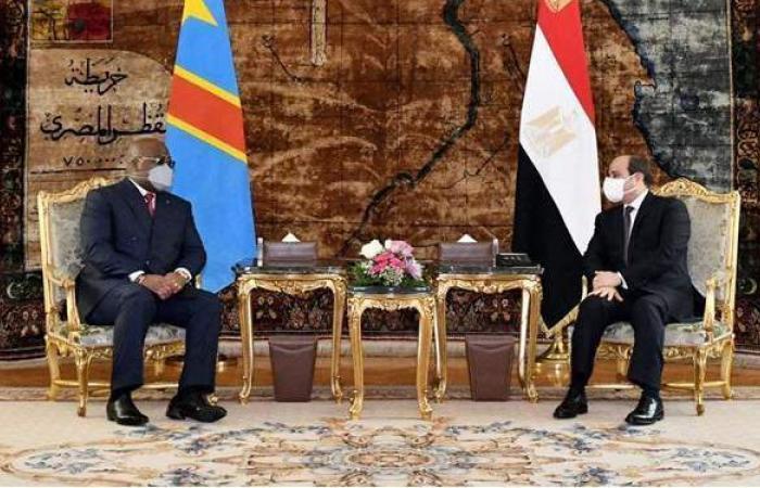 تفاصيل كلمة السيسي خلال مؤتمر صحفي مع رئيس الكونغو الديمقراطية