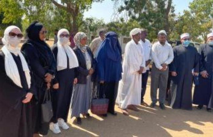 قافلة الأوقاف الدعوية بدولة السودان تصل ولاية النيل الأبيض.. صور