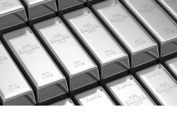 بعد وصولها لأعلى مستوى فى 8 سنوات الفضة ارتداد مفاجئ فى الأسعار