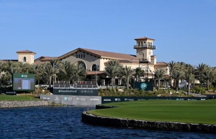 أبطال الغولف في قلب السعودية