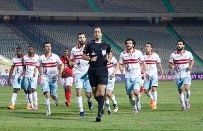 """قبل صدام الليلة.. محمد الحنفي """"وشه حلو"""" على الزمالك و """"نحس"""" على غزل المحلة"""