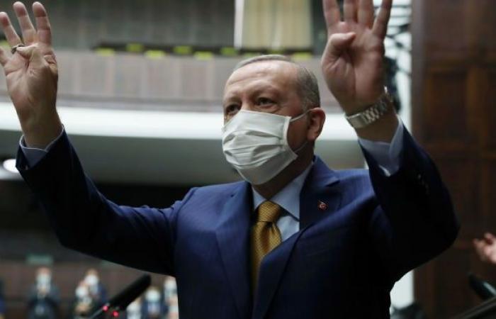 أردوغان يتحدث عن خطوات اتخذتها بلاده خلال فترة جائحة كورونا