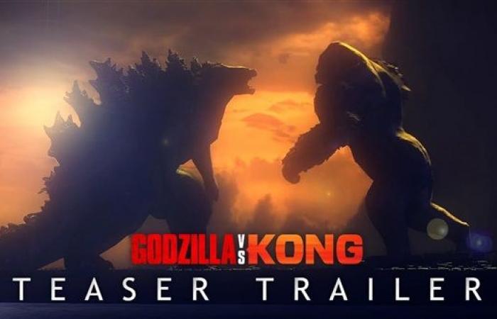 """تريلر """"Godzilla Vs. Kong"""" يحقق مشاهدات قياسية"""