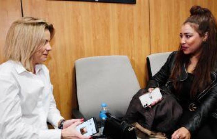 زوجة جارسيا مدرب منتخب اليد تكشف سر زيارة وكالة البلح وحبها للملوخية..فيديو