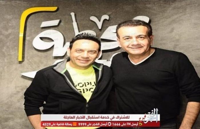 """بالصور.. أسامة منير يحتفل بمرور 13 عاما على """"محطة مصر"""" بحضور مصطفى قمر"""