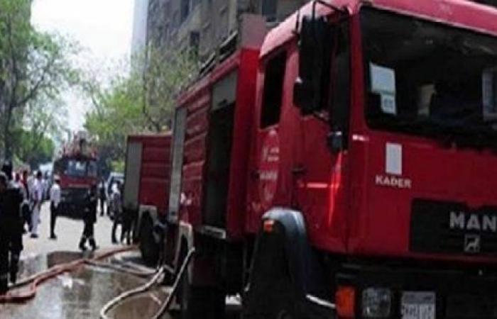 السيطرة على حريق في مخزن أسفل برج سكني في السويس