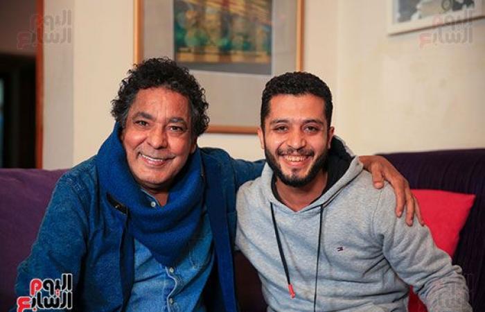 محمد منير لـ تليفزيون اليوم السابع: الأغنية اللى تعجبنى بسمعها حتى لو مهرجانات