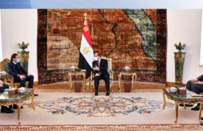 سعد الحريرى يغادر القاهرة عقب لقاء الرئيس السيسى