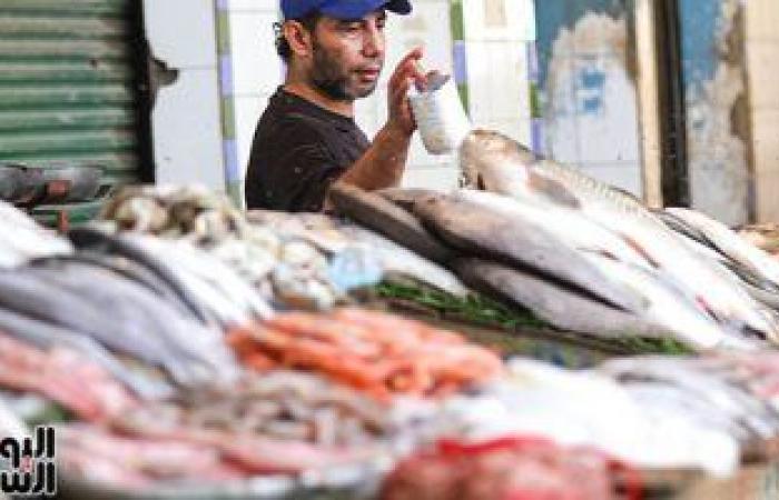 أسعار الأسماك بسوق العبور اليوم.. البلطى الأسوانى يتراوح بين 17-37 جنيها