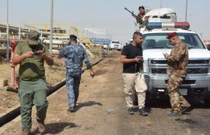الاستخبارات العراقية تضبط وكرين لداعش فى عمق صحراء الأنبار