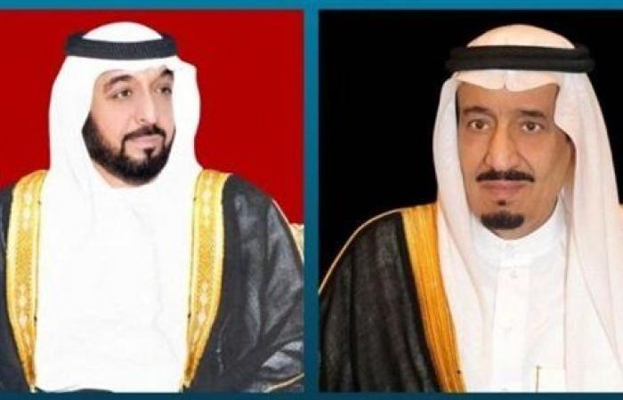 قادة الإمارات يبعثون برقيات تعزية لـ خادم الحرمين الشريفين