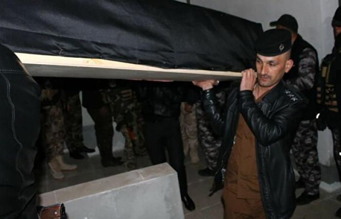 رفات ضحايا الإبادة من الإيزيديين يصل مثواه الأخير شمالي العراق.. صور وفيديو