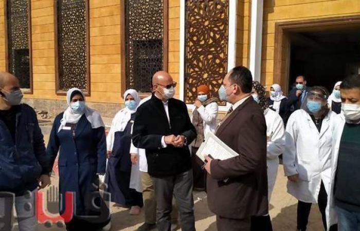 وكيل وزارة الصحة بالشرقية يتفقد مستشفى صدر الزقازيق