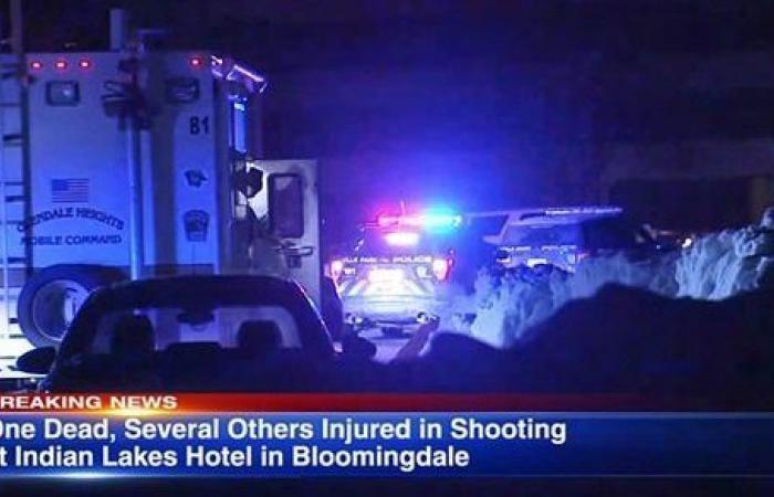 مقتل وإصابة 7 أشخاص في إطلاق نار بولاية إلينوي الأمريكية