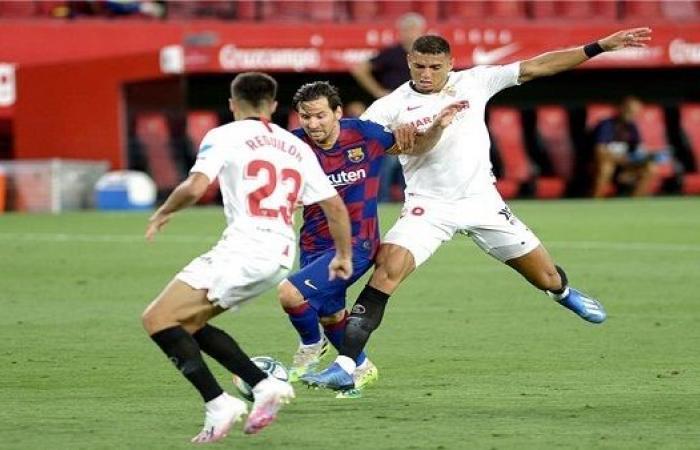 تعرف على موعد مباراة برشلونة وإشبيلية في نصف نهائي كأس إسبانيا
