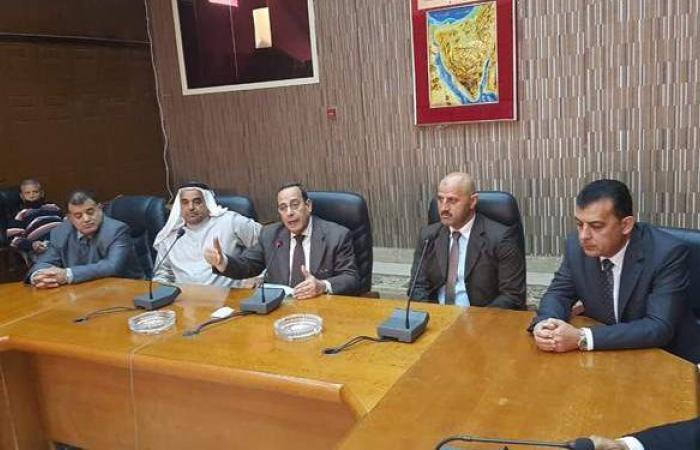 محافظ شمال سيناء يؤكد استمرار التنمية في مختلف القطاعات