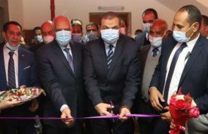 وزير القوى العاملة يفتتح اتحاد محلى عمال الجيزة بعد تطويره ويدعو للتحول الرقمى