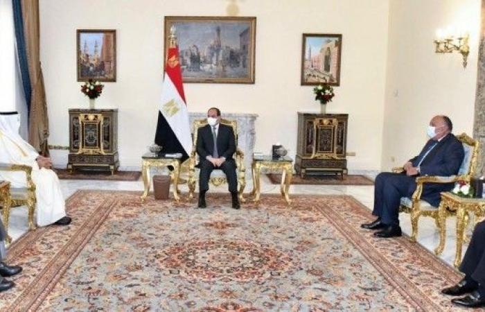 السيسي: نتطلع لتطوير العلاقات مع مجلس التعاون الخليجي